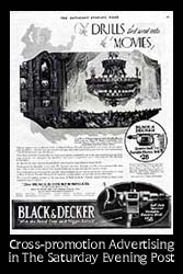 Click Here to See The Saturday Evening Post Advertisement From 1925 Cross-promoting The Phantom of the Opera and Black and Decker Tools